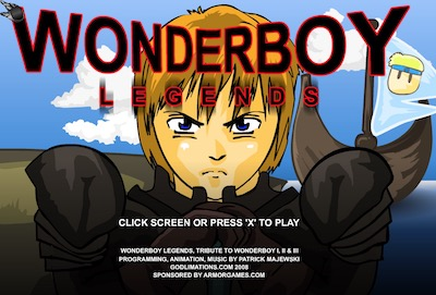 Wonderboy Legends