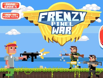 Frenzy Pixel War