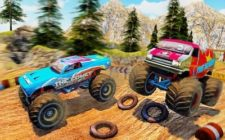 Monster Truck Desert Racing