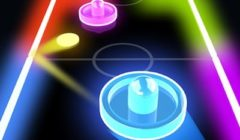 Glow Hockey HD