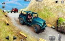 Mountain Climb Passenger jeep game