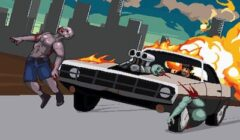 Drive or Die Game: Kill Zombies and Drive